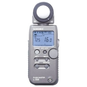 Sekonic L-358 Flash Master - Weatherproof Digital Incident, Reflected and Flash Light Meter