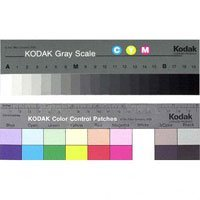 Kodak Color Separation Guide with Grey Scale, 8 Size, #Q-13
