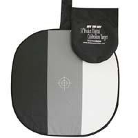 PhotoVision 14 Pocket One-Shot Digital Calibration Target with DVD, Collapsible Disc Exposure Aid for Digital Cameras