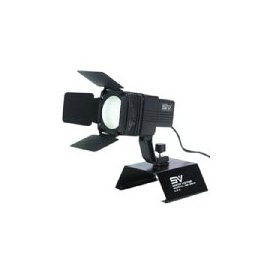 Smith Victor AL415 150w AC Video Light with Barndoors and Camera Shoe.