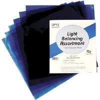 Smith Victor Light Balancing Filter Pack with Six 12 x 12 Gel Filters.