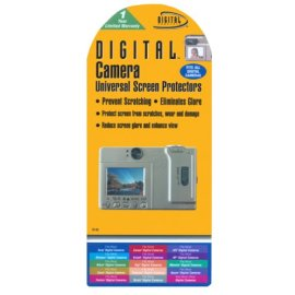 Digital Concepts Universal Digital Camera Screen Protectors