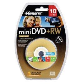 Memorex Mini DVD+RW 10 Pack