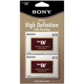 Sony High Definition Minidv Videocassette