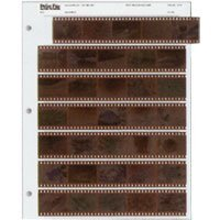 Print File Archival 35mm Size Negative Pages Holds Seven Strips of Five Frames, Pack of 25