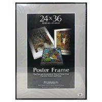 Mcs Poster Masonite 24x36 Frame Black #98463