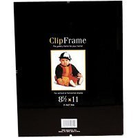 MCS Glass Clip Picture Frame for 8x 11 Photographs