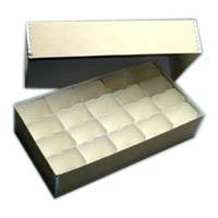 Adorama Archival 35mm Size # 400 Slide Storage Box with Divider Boxes, Holds 400 Slides, 11 1/4 x 6 x 2 1/2.