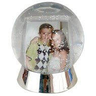Neil - Photo Snow Globe for 2x3 Inch Photos
