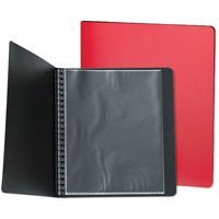 Prat Start Presentation Book (Spiral) with Ten 11x 14 Archival Sheet Protectors, Cover Color: Black.