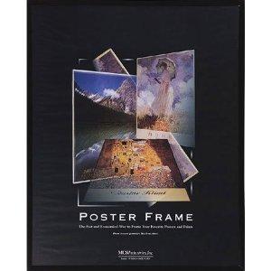 Mcs Poster Masonite 12x18 Frame Black #22219