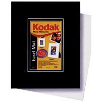 Kodak 4 x 6 Easel Mat Photo Frame, for use with the Easel Adhesive Mount, White.