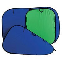 Lastolite 6'x 7' Chromakey Collapsible Disc Background, Green