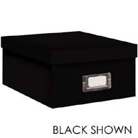 Pioneer B-1 Photo / Video Storage Box - holds over 1,100 photos up to 4'' x 7'' or 10 VHS videos Solid Color