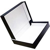 Adorama Archival 16 x 20 Clamshell Print Storage Box, Color: Black, 16 1/2 x 20 1/2 x 1