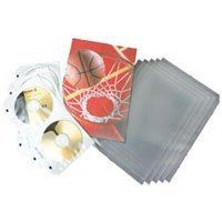 Pro-Line Digital Output Sleeving, Archival 3 mil Polypropylene Print Protectors, 4 x 6, Sealed on One Side, Pack of 25