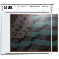 Print File Archival Negative Pages Holds One 4 X 5 Sleeved Negative or Transparency, Pack of 100