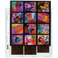 Print File Archival 120 Size Negative Pages Holds Three Strips of Four 6x6 Frames with Contact Sheet, Pack of 100