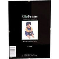 MCS Glass Clip Picture Frame for 4x 6 Photographs