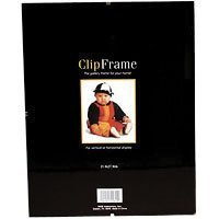 MCS Glass Clip Picture Frame for 8x 12 Photographs