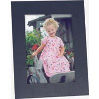Collectors Gallery Contemporary Timeless Easel Frame for 5 x 7 Photographs, without Foil Window Border (10 Pack)