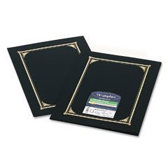 Geographics(R) Document Covers, 9 1/4in. x 12 1/2in., Black, Pack Of 6