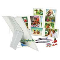 Itoya Pop Goes The Easel Standing Photo Album Holds up to 4 x 6 Photographs, Forty Photo Capacity.
