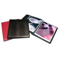 Print File Scrapbook 8-1/2 x 11 - with Twelve White Inserts and Pages to Hold Twenty Four Prints, Green Lizard Cover.