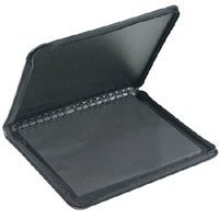 Prat Start 2 Presentation Case, Multi-ring Binder with Ten 18x 24 Archival Sheet Protectors, Cover Color: Black.