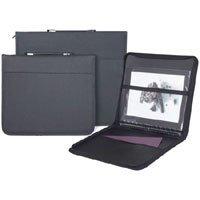 Prat Start 3 Portfolio Case with Internal Holding Straps, 23 x 31 x 1, Cover Color: Black.