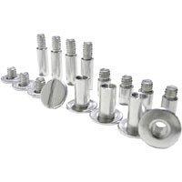 Pina Zangaro Screwpost Pack, Assortment of Aluminum Screws & Posts
