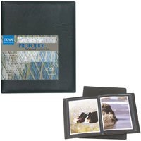 Itoya Art Profolio Professional Presentation Book with 24 Sleeves for 14 x 17 Art Works.