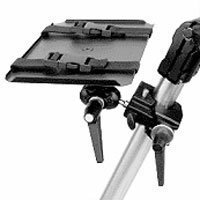 Bogen - Manfrotto Video Monitor Kit - Video Monitor Platform (3152) with Super Clamp and Double Ball Joint (155)