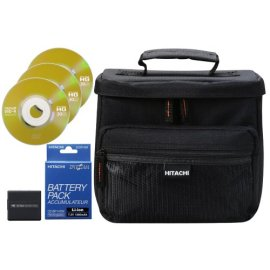 Hitachi Camcorder Accessory Kit 2 for Hitachi DVD Camcorders