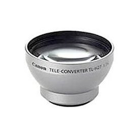 Canon TL-H27 Tele Converter for Elura 100, Optura S1 & DVD Camcorders