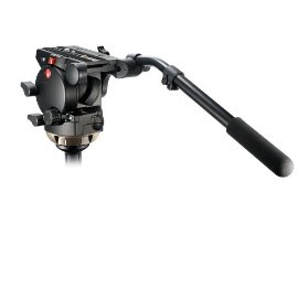 Manfrotto 526 Pro Video Fluid Head w/Adjustable 3 Step Drag Control - 17-35 lb capacity.