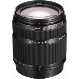 Sony DT 18-200mm f/3.5-6.3 Aspherical ED High Magnification Zoom Lens for Sony Alpha Digital SLR Camera