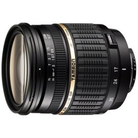 Tamron SP AF17-50mm F/2.8 Di II LD Aspherical (IF) Lens with hood for Nikon-D DSLR Cameras