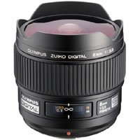 Olympus Zuiko 8mm f/3.5 E-ED Digital Fish-Eye Lens for the E Digital SLR System.