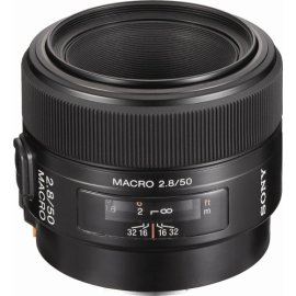 Sony 50mm f/2.8 Macro Lens for Sony Alpha Digital SLR Camera