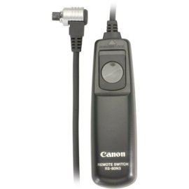 Canon RS-80N3 Remote Switch for EOS-1V/1VHS, EOS-3, EOS-D2000, D30, D60, 1D, 1Ds, EOS-1D Mark II, 10D, 20D