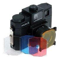 Holga Four Color Filter Set for Color or Black & White Film.