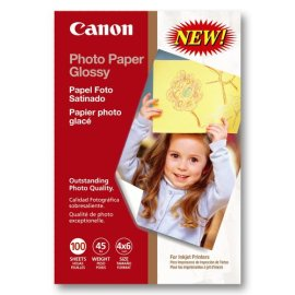 Canon Photo Paper Glossy 4x6 100 Sheets (0775B022)