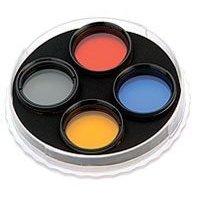 Celestron 94119-40 1.25  Eyepiece Filter Set (8, ND-13, 47, 82A)