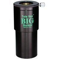 Tele Vue Barlow Lens 2X 2 (Big Barlow) with Brass Clamp Rings.