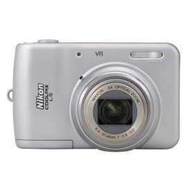 Nikon Coolpix L5 7.2MP Digital Camera with 5x Optical Vibration Reduction Zoom