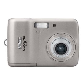 Nikon Coolpix L6 6MP Digital Camera with 3x Optical Zoom