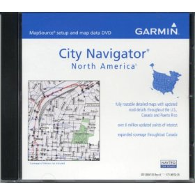 Garmin MapSource City Navigator North America, v.8 (010-10474-00)