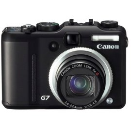 Canon PowerShot G7 10MP Digital Camera with 6x Image-Stabilized Optical Zoom