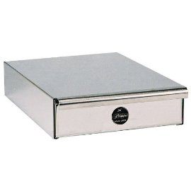 Pasquini Single Drawer Stainless Steel Base - Chrome